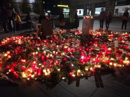 Trauerort in Halle